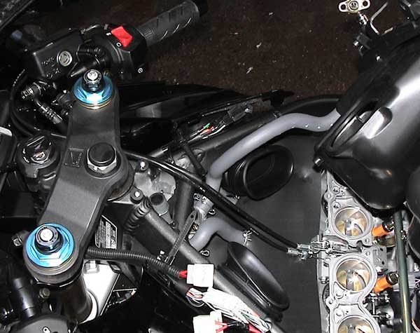 Cable Routing on Honda Motorcycle Wiring